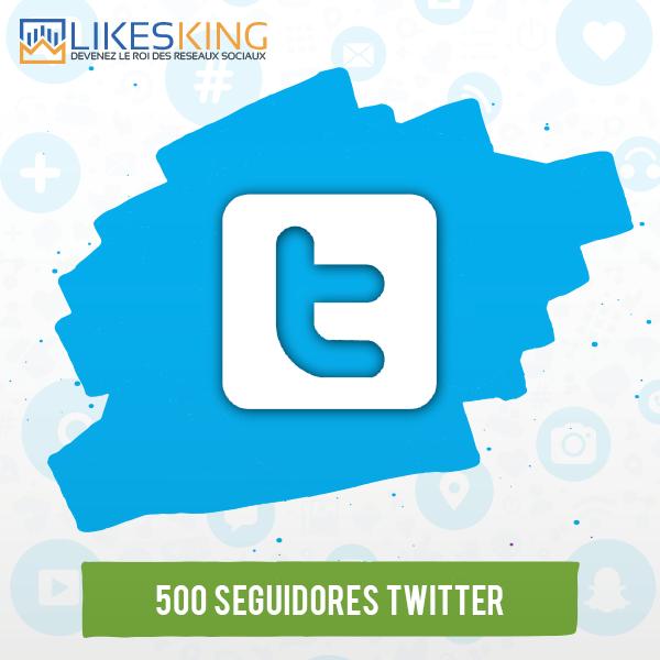 500 Seguidores Twitter